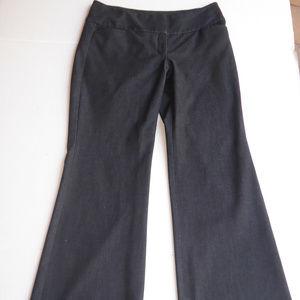 EXPRESS DESIGN STUIDO Charcoal Gray Career Pant 6S